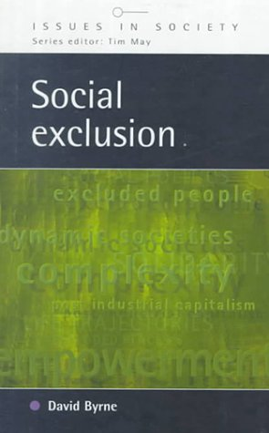 9780335199754: Social Exclusion (Issues in Society)