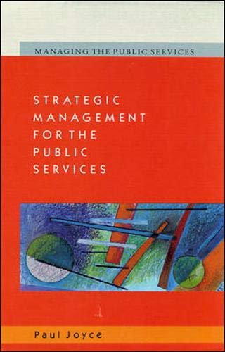 9780335200481: Strategic Management for the Public Services