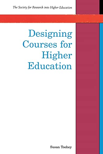 9780335200498: Designing Courses for Higher Education (Society for Research into Higher Education)