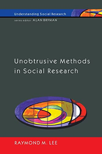 9780335200511: Unobtrusive Methods In Social Research (Understanding Social Research)