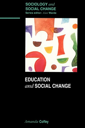 education social change The role of education as an agent or instrument of social change and social development is widely recognized today social change may take plate (i) when human need change, (ii) when the existing social system or network of social institutions fail to meet the existing human needs and (iii) when new materials suggest better ways of meeting.