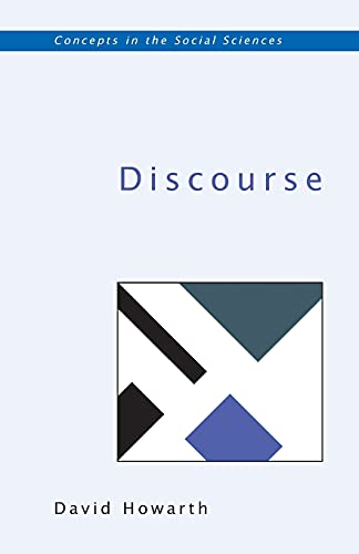 9780335200702: DISCOURSE (UK Higher Education OUP Humanities & Social Sciences Sociology)