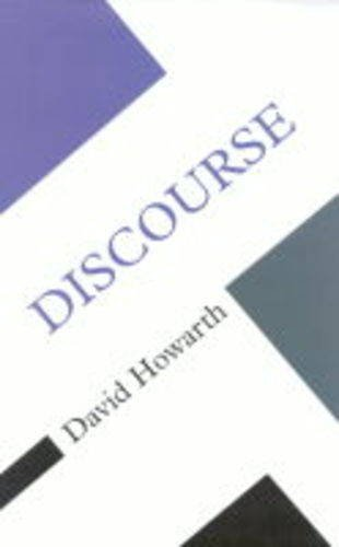 9780335200719: Discourse (Concepts in the Social Sciences)