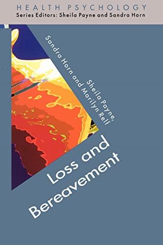 9780335201051: Loss and Bereavement (Health Psychology)