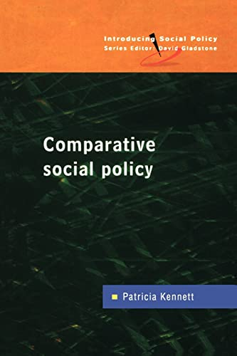 9780335201235: Comparative Social Policy