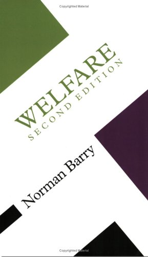 9780335201426: Welfare (Concepts in the Social Sciences)