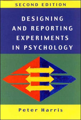 9780335201471: Designing and Reporting Experiments in Psychology (Open Guides to Psychology)