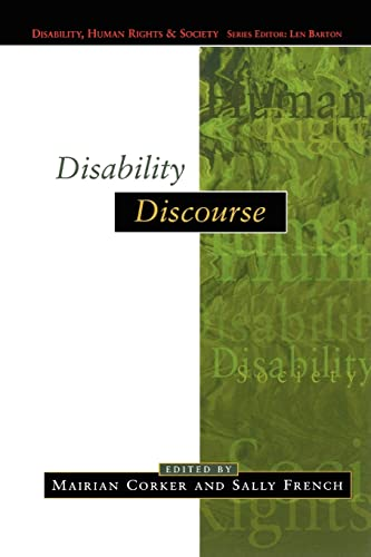 9780335202225: Disability Discourse (Disability, Human Rights, and Society)