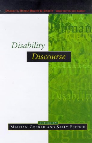 9780335202232: Disability Discourse (Disability, Human Rights and Society)