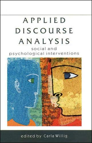 9780335202270: Applied Discourse Analysis: Social and Psychological Interventions