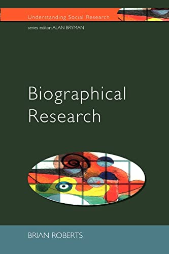 9780335202867: Biographical Research (Understanding Social Research)