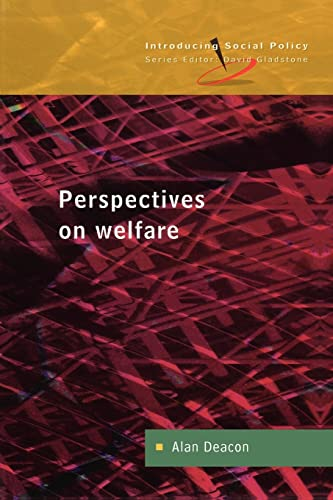 9780335203208: Perspectives On Welfare