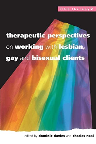 9780335203338: Therapeutic Perspectives On Working With Lesbian, Gay and Bisexual Clients (Pink Therapy)