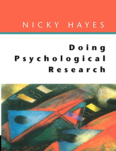 9780335203796: Doing Psychological Research