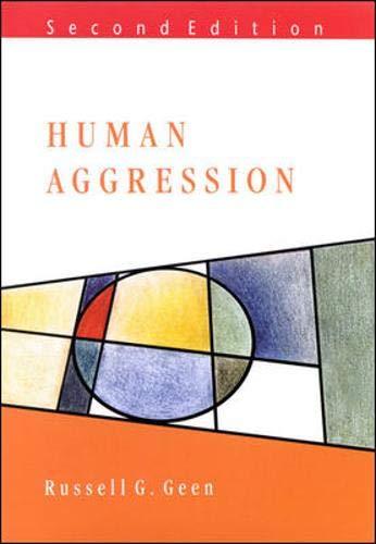 9780335204724: Human Aggression (Mapping Social Psychology)