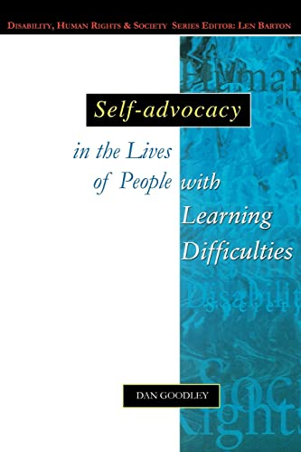 9780335205264: Self-Advocacy In The Lives Of People With Learning Difficulties: The Politics of Resilience (Disability, Human Rights & Society)