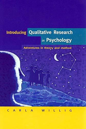 9780335205356: Introducing Qualitative Research in Psychology: Adventures in Theory and Methods