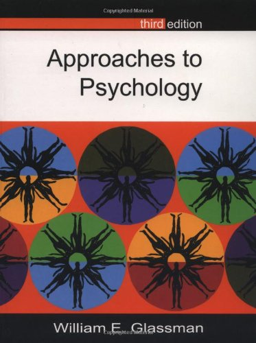 9780335205455: Approaches to Psychology