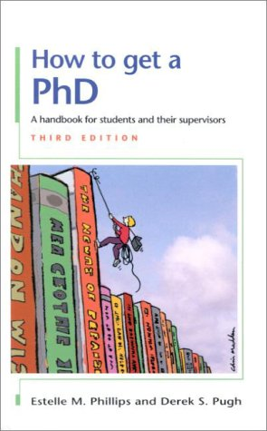 9780335205516: How to Get a PhD: A Handbook for Students and Their Supervisors