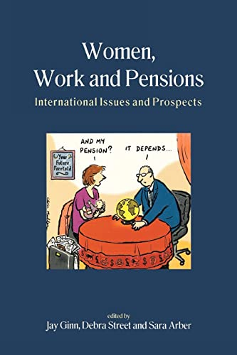 9780335205943: Women, Work And Pensions: International Issues and Prospects