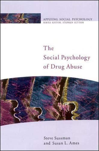 9780335206193: The Social Psychology of Drug Abuse (Applying Social Psychology)