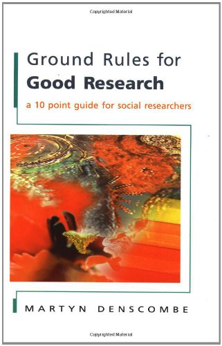 9780335206513: Ground Rules for Good Research: A 10 Point Guide for Social Researchers