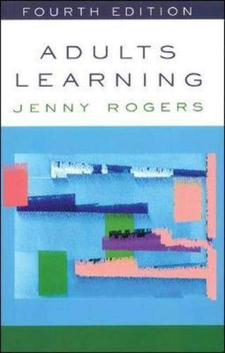 9780335206773: Adults Learning