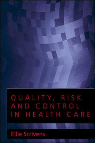 9780335207121: Quality, Risk and Control in Health Care