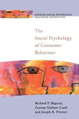 9780335207220: The Social Psychology of Consumer Behaviour (Applying Social Psychology)