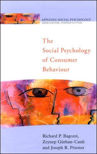 9780335207237: The Social Psychology of Consumer Behaviour (Applying Social Psychology)