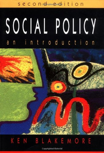 9780335208470: Social Policy: An Introduction
