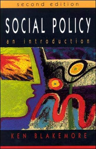 9780335208487: Social Policy: An Introduction