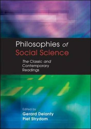 9780335208852: Philosophies of Social Science: The Classic and Contemporary Readings