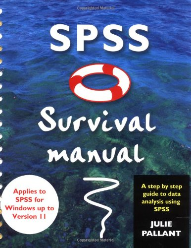 9780335208906: SPSS Survival Manual: A Step By Step Guide to Data Analysis Using SPSS for Windows (Version 10)