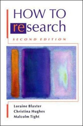 9780335209033: How to Research