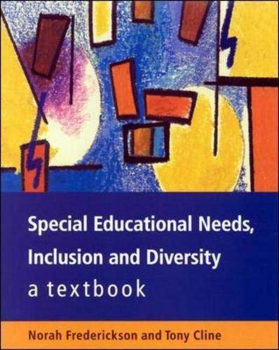 9780335209736: Special Educational Needs, Inclusion and Diversity: A Textbook