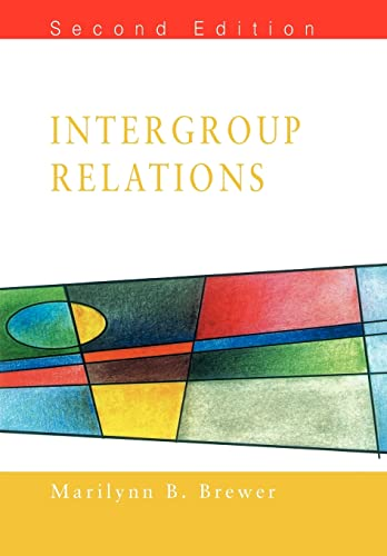 9780335209897: Intergroup Relations
