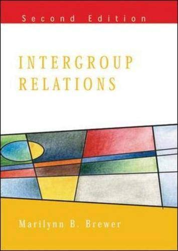9780335209903: Intergroup Relations (Mapping Social Psychology Series)