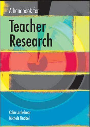 9780335210657: A Handbook for Teacher Research