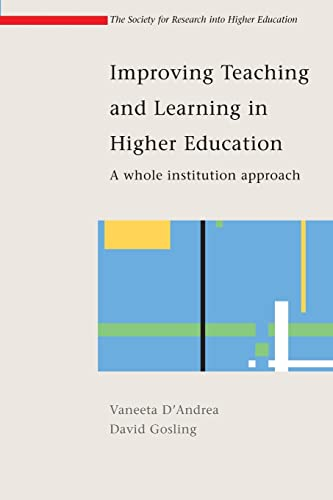 9780335210688: Improving Teaching and Learning in Higher Education: A whole institute approach (Society for Research into Higher Education)