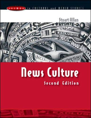 9780335210749: News Culture (Issues In Cultural And Media Studies)