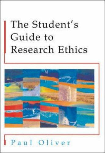 9780335210886: The Students' Guide to Research Ethics
