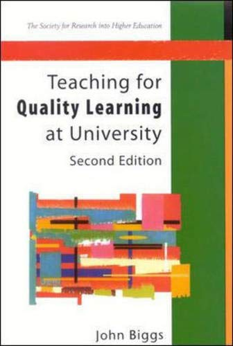 9780335211692: Teaching for Quality Learning at University (Society for Research into Higher Education)