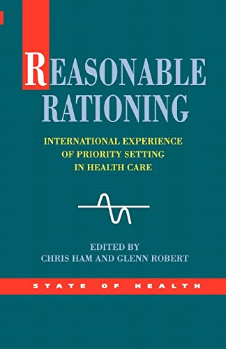 9780335211852: Reasonable Rationing (State of Health Series)