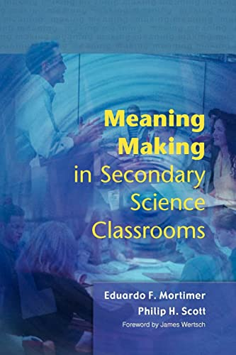 9780335212071: Meaning Making in Secondary Science Classrooms