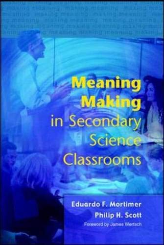 9780335212088: Meaning Making in Secondary Science Classrooms