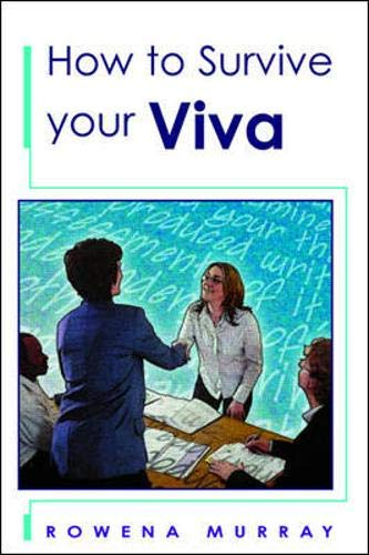 9780335212842: How to Survive Your Viva