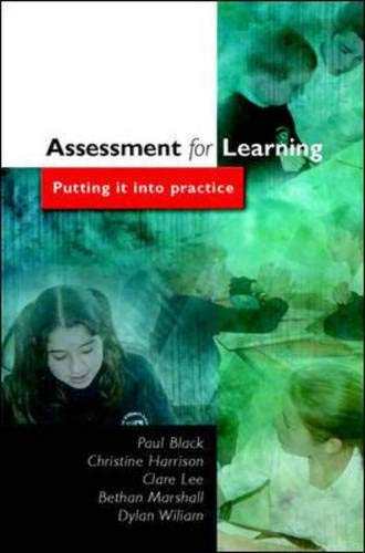 9780335212989: Assessment for Learning: Putting it into Practice