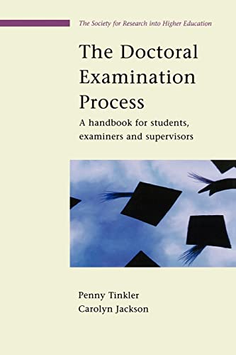 9780335213054: The Doctoral Examination Process: A Handbook for Students, Examiners and Supervisors