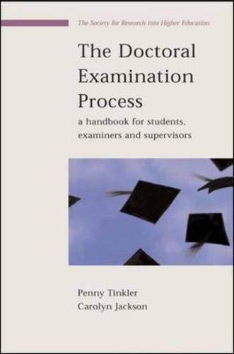 9780335213061: The Doctoral Examination Process